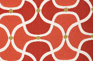 Scallop CL Mai Tai Indoor Outdoor Upholstery Fabric by Bella Dura