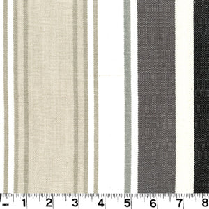 Bridgewater CL Charcoal Upholstery Fabric by Roth & Tompkins