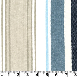 Bridgewater CL Lake Upholstery Fabric by Roth & Tompkins