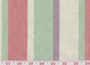 Lithgow Stripe CL Camellia Drapery Upholstery Fabric by Hill Brown