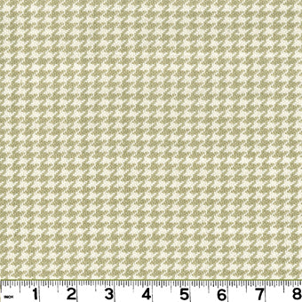 Houndstooth CL Sand Upholstery Fabric by Roth & Tompkins