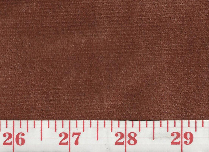 Regal Silk Velvet CL Ginger Upholstery Fabric