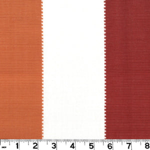 Caruso CL Persimmon Upholstery Fabric by Roth & Tompkins