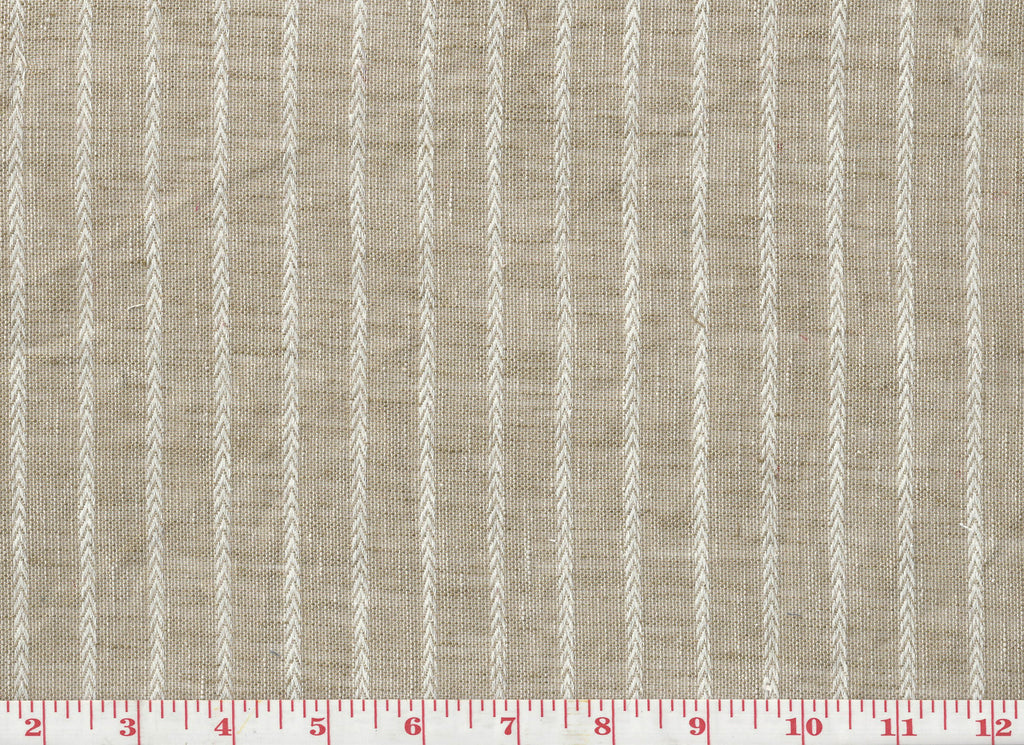 On A Roll CL Hemp Sheer Drapery  Fabric by P Kaufmann