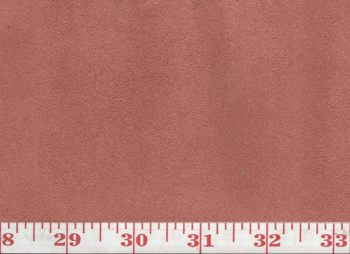GEM 30 Suede CL Brick Upholstery Fabric by KasLen Textiles