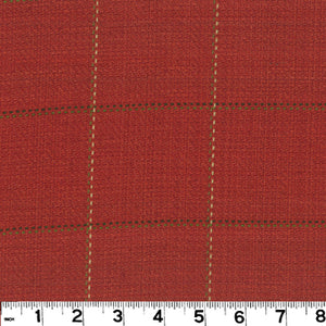 Frazier CL Fire Upholstery Fabric by Roth & Tompkins
