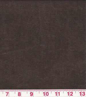 Washed Canvas CL Raisin (675) Canvas Upholstery Fabric