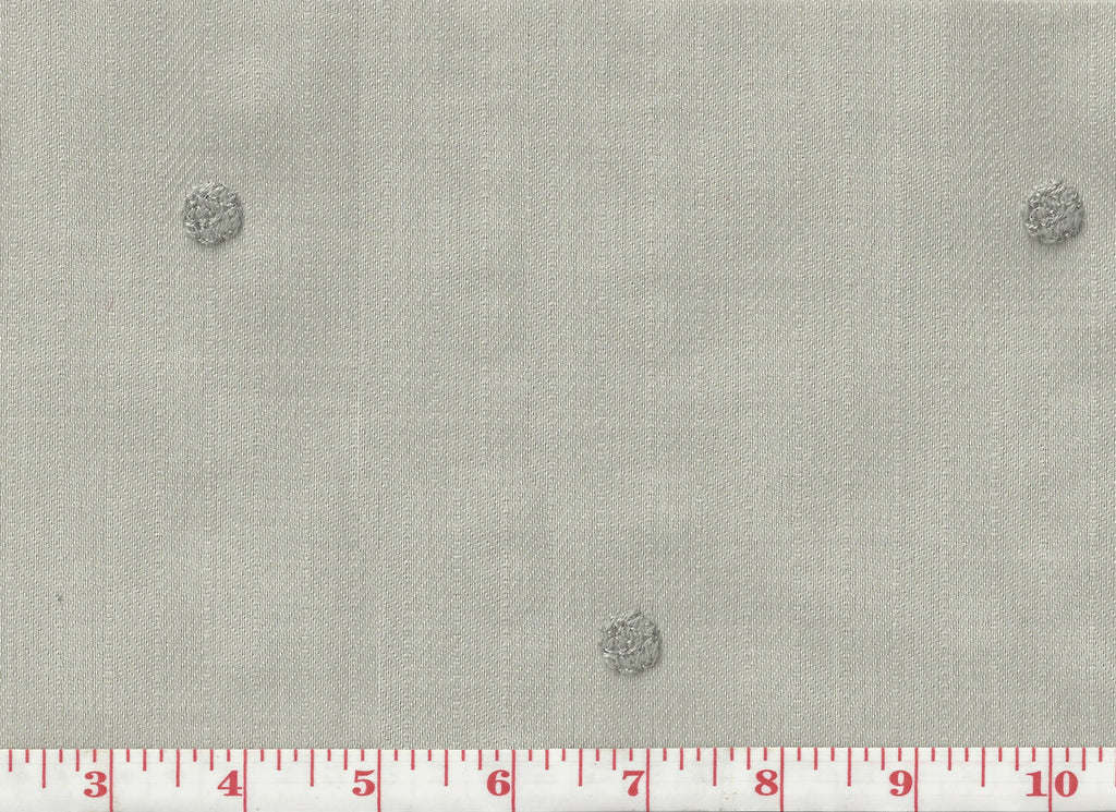 Lucerne CL Light Grey Drapery Fabric by Clarence House