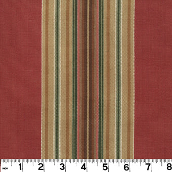 Enfield CL Barn Red Multipurpose Fabric by Roth & Tompkins