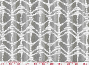 Boca CL Shale Upholstery Fabric --  the Radiate Collection