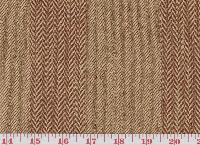 Carlton CL Terra Cotta Upholstery Fabric by Clarence House