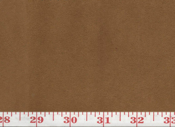 GEM 17 Suede CL Cappuccino Upholstery Fabric by KasLen Textiles