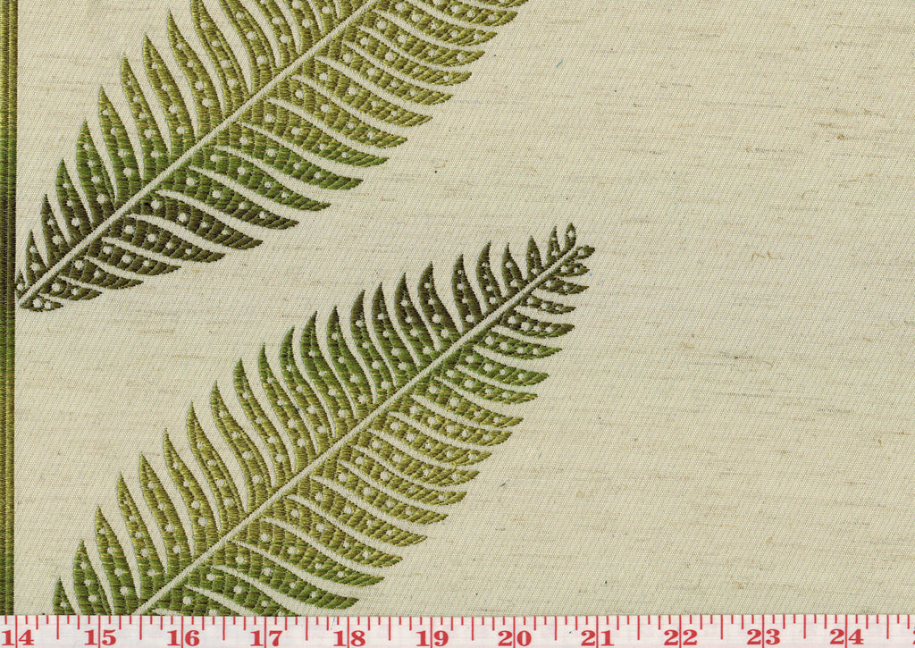 Sago CL Fern Drapery Upholstery Fabric by Golding Fabrics