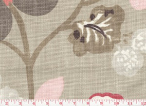 Gorgeous CL Blossom Drapery Fabric by Braemore Textiles