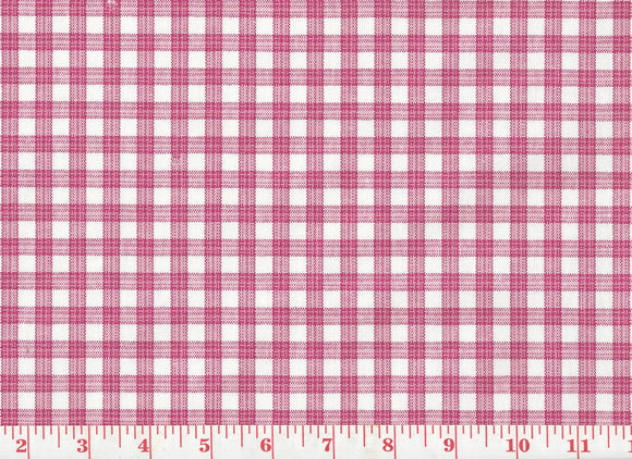 Highland Check CL Pink Drapery Upholstery Fabric by  P Kaufmann