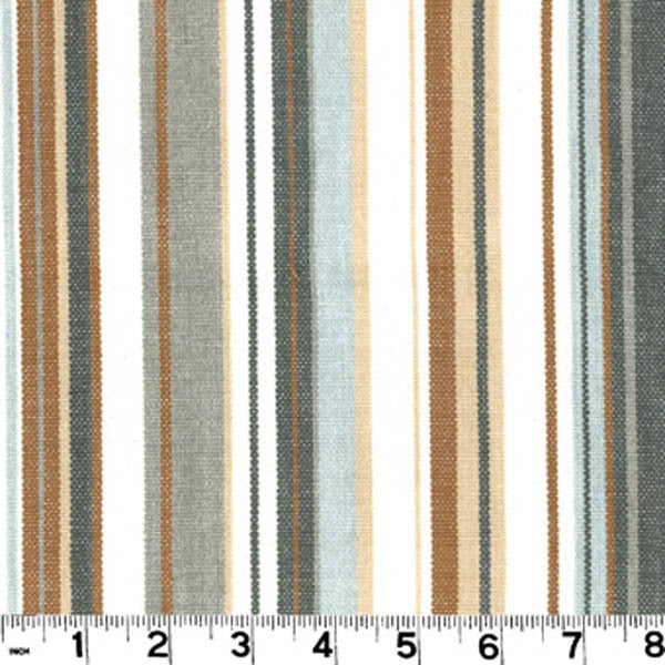 Victoria CL Sandstone Stripe Upholstery Fabric by Roth & Tompkins