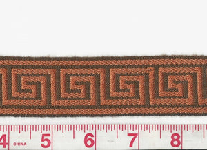 Petite Galon Athenee CL Rust Fabric Trim by Clarence House