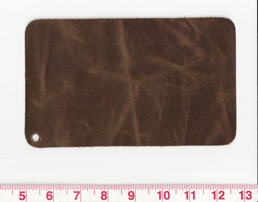 Dynasty CL Toffee Full Aniline 55 sf Waxed Leather Hide