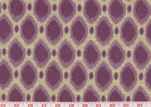 Amity CL Plum Drapery Upholstery Fabric by Golding Fabrics