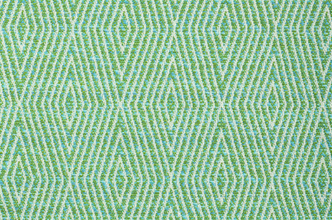 Dart CL Turquoise Indoor Outdoor Upholstery Fabric by Bella Dura