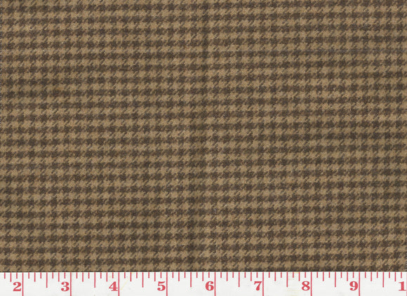 Ellwood Houndstooth CL Russet Upholstery Fabric by Ralph Lauren