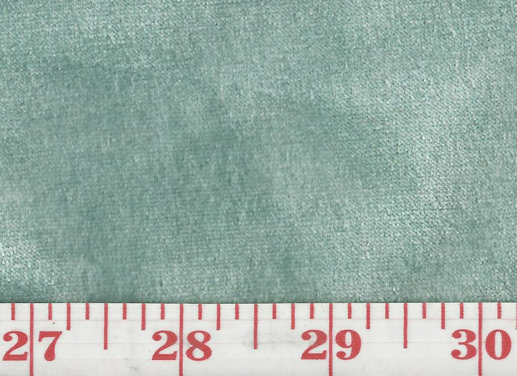 Regal Silk Velvet CL Aqua Upholstery Fabric