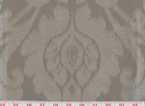 Manchuria CL Morel Drapery Upholstery Fabric by American Silk Mills