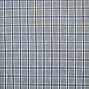 Provence Check CL Sea Drapery Upholstery Fabric by Ralph Lauren