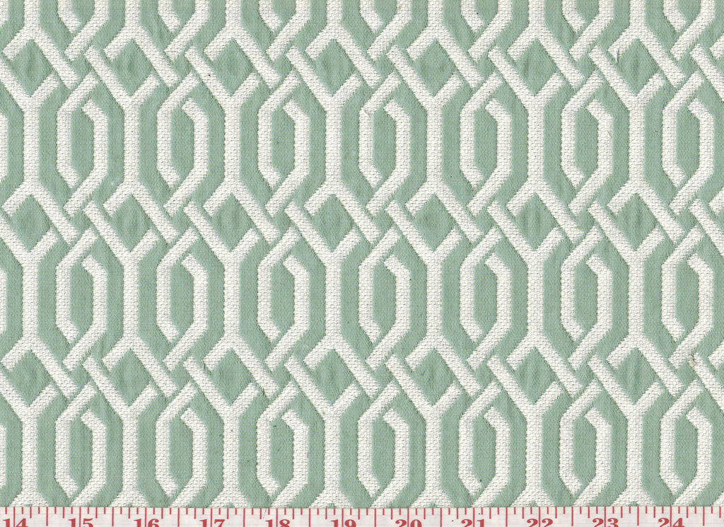 Interlace CL Mint Julep Upholstery Fabric by P  Kaufmann