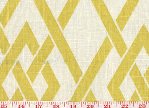 Secret Gate CL Citrus Drapery Upholstery Fabric by Braemore Textiles