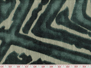 ACDC CL Teal Upholstery Fabric by Radiate Textiles