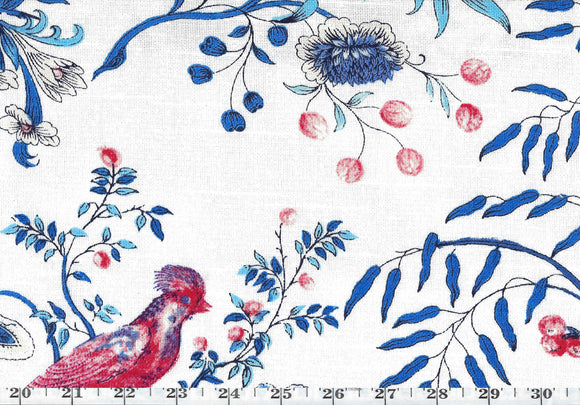 Above the Treetop CL Porcelain Drapery Upholstery Fabric by PK Lifestyles