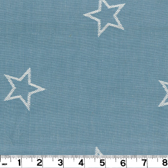 All Star CL Chambray Drapery Upholstery Fabric by Roth & Tompkins