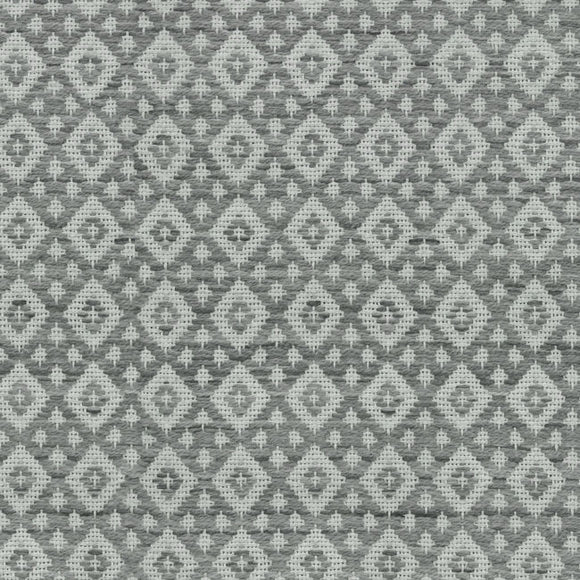 Andes Diamond CL Smoke Upholstery Fabric by PK Lifestyles