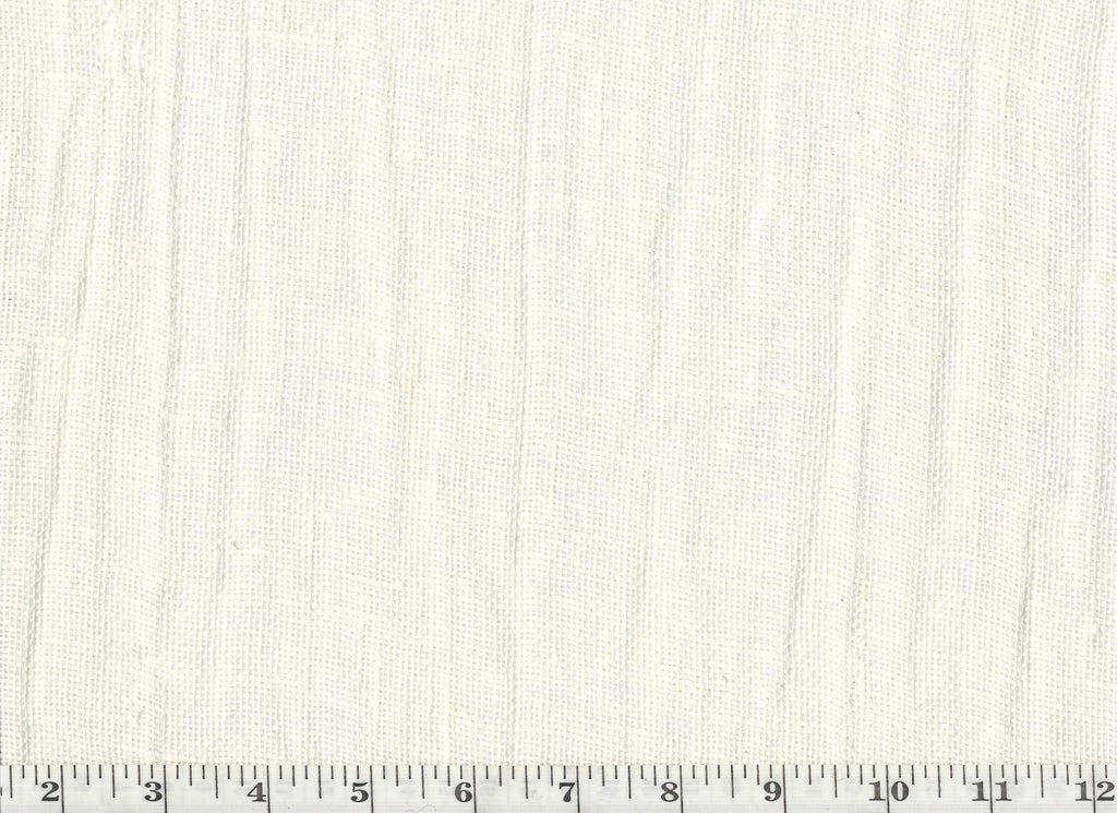 Aria CL Off White Sheer Drapery Fabric by P Kaufmann