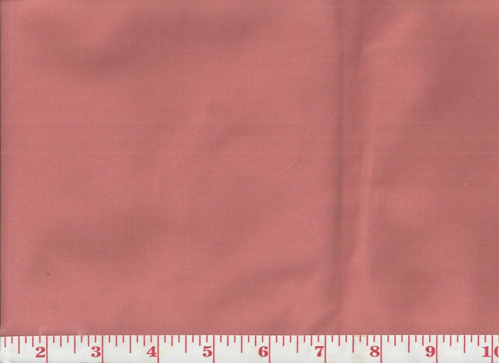 Arielle CL Rose Coral Satin Drapery Upholstery Fabric by Clarence House