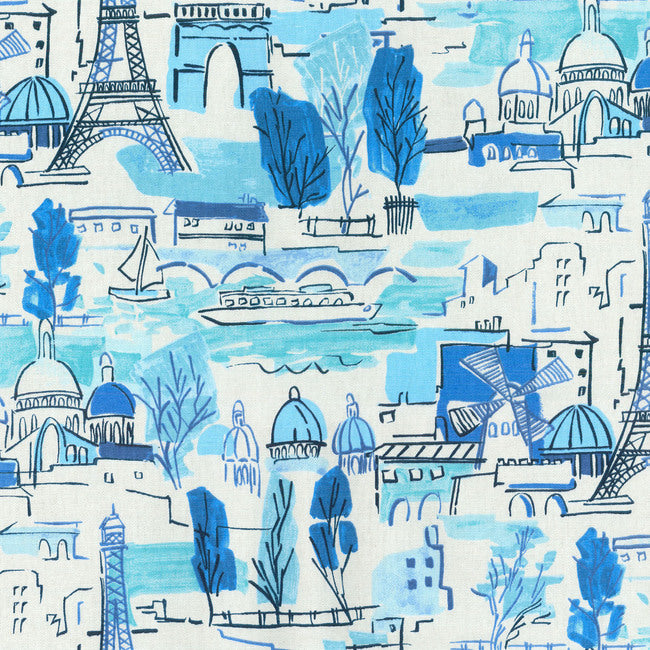 Arrondissement CL Luna Drapery Upholstery Fabric by PK Lifestyles (Waverly)