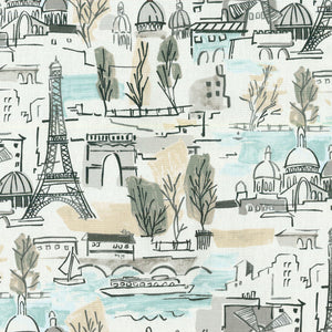 Arrondissement CL Cloud Drapery Upholstery Fabric by PK Lifestyles (Waverly)