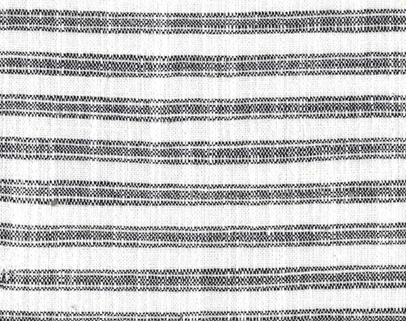 Ashton Ticking CL Domino Drapery Upholstery Fabric by PK Lifestyles