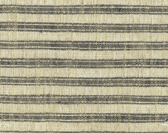 Ashton Ticking CL Jute Drapery Upholstery Fabric by PK Lifestyles