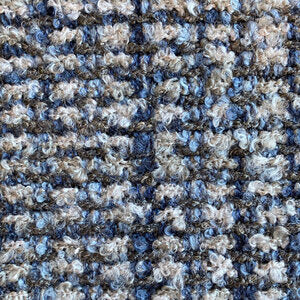 Bura CL Denim  Upholstery Fabric by DeLeo Textiles