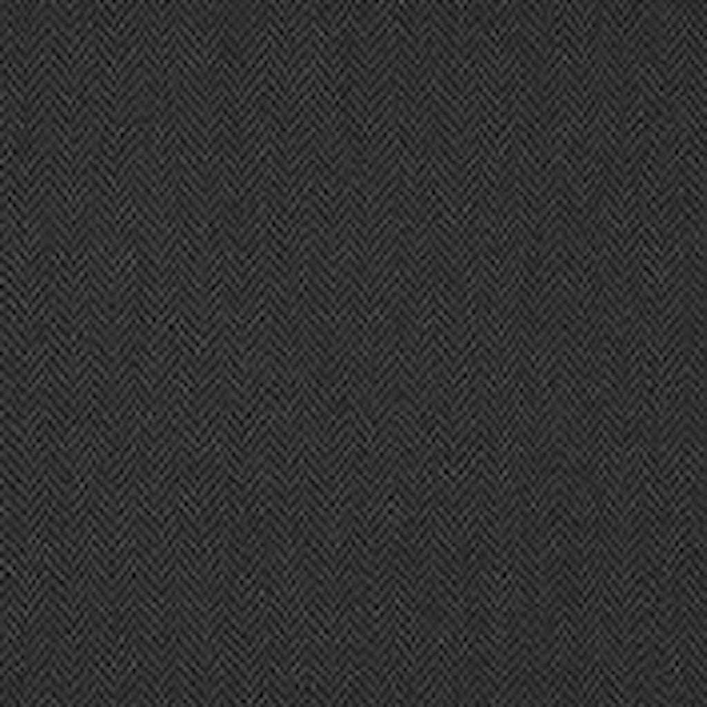 Balines Herringbone CL Black Dark Grey Upholstery Fabric by Ralph Lauren