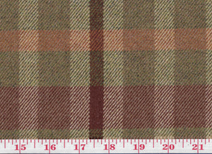 Baskerville CL Olive Wool Drapery Upholstery Fabric by Clarence House