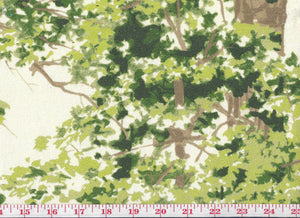 Belle Foret CL Summer Day Drapery Upholstery Fabric by Braemore Textiles