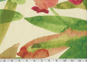 Bora Bora CL Tropical Drapery Fabric by Braemore