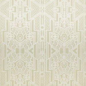 Brandt Geometric CL Cream Double Roll of Wallpaper by Ralph Lauren