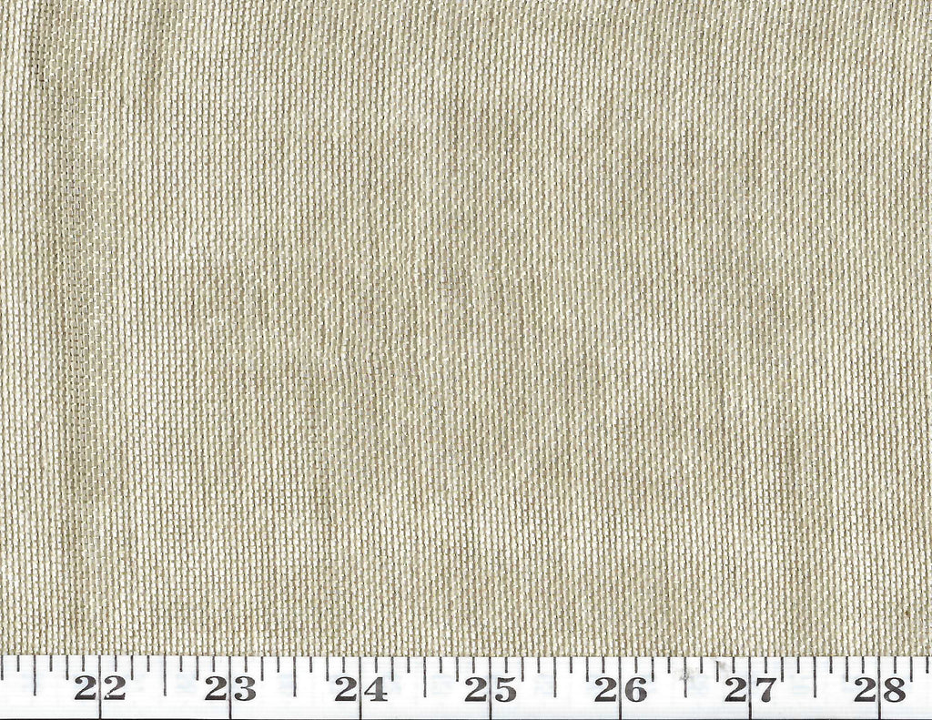 Burlap Metallic Sheer CL Gold Drapery Fabric by Ralph Lauren Fabrics