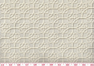 Carlise Matelasse CL Natural Upholstery Fabric by Golding Fabrics