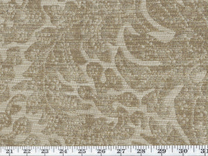 Castine Damask CL Amber Upholstery Fabric by Ralph Lauren