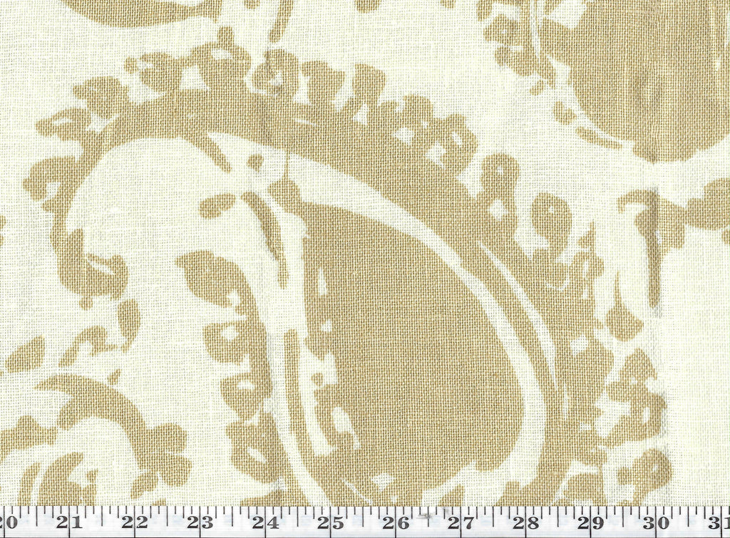 Catalina Paisley CL Sand Drapery Upholstery Fabric by Ralph Lauren